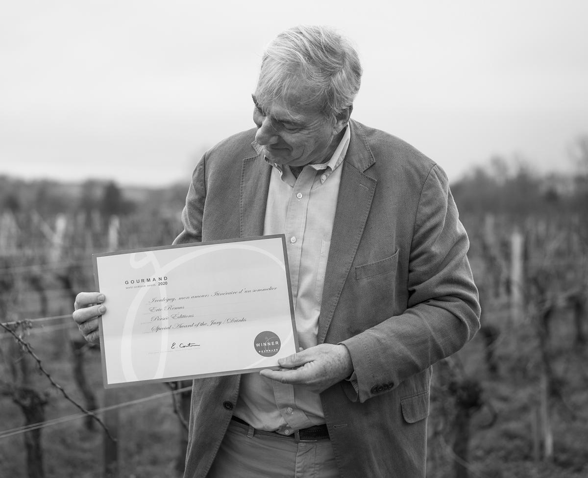 Le roman Irouléguy mon amour reçoit un « Special Award » des Gourmand World Cookbook Awards
